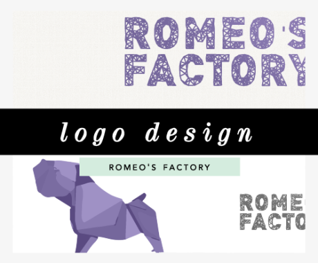 Logo Design: Romeo's Factory