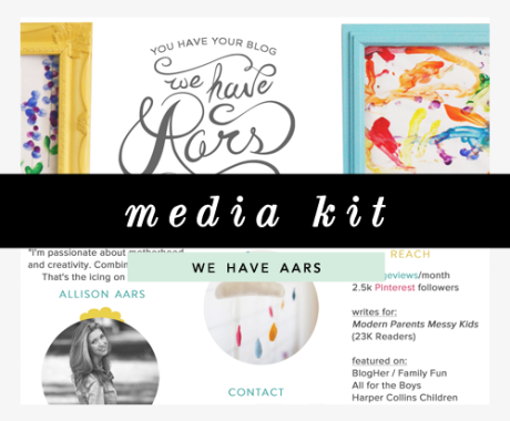 Media Kit Design: We Have Aars