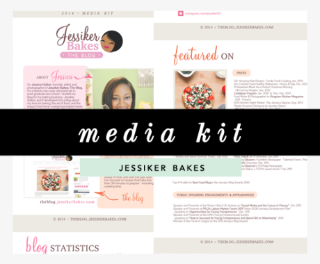 Media Kit Design: Jessiker Bakes