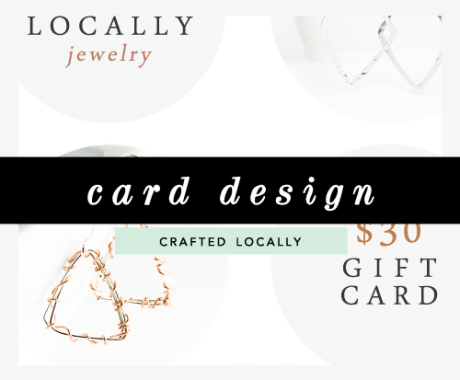 Gift Card Design And Ad Banners: Crafted Locally