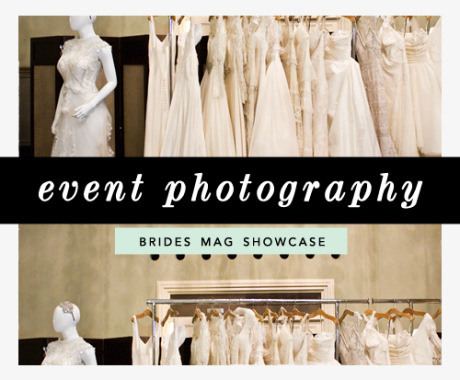 Event Photography: Brides Magazine Wedding Showcase / London Event Photographer