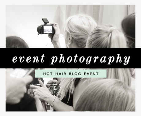 Event Photography for Hot Hair / London Event Photographer